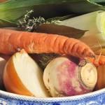 Le restaurant utilise uniquement des fruits et légumes de saison